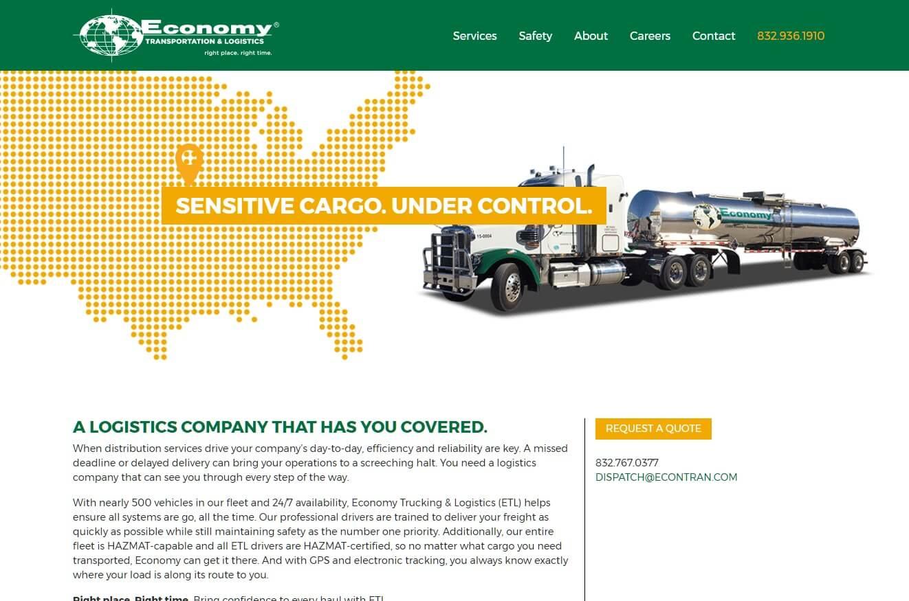 Economy Transportation & Logistics