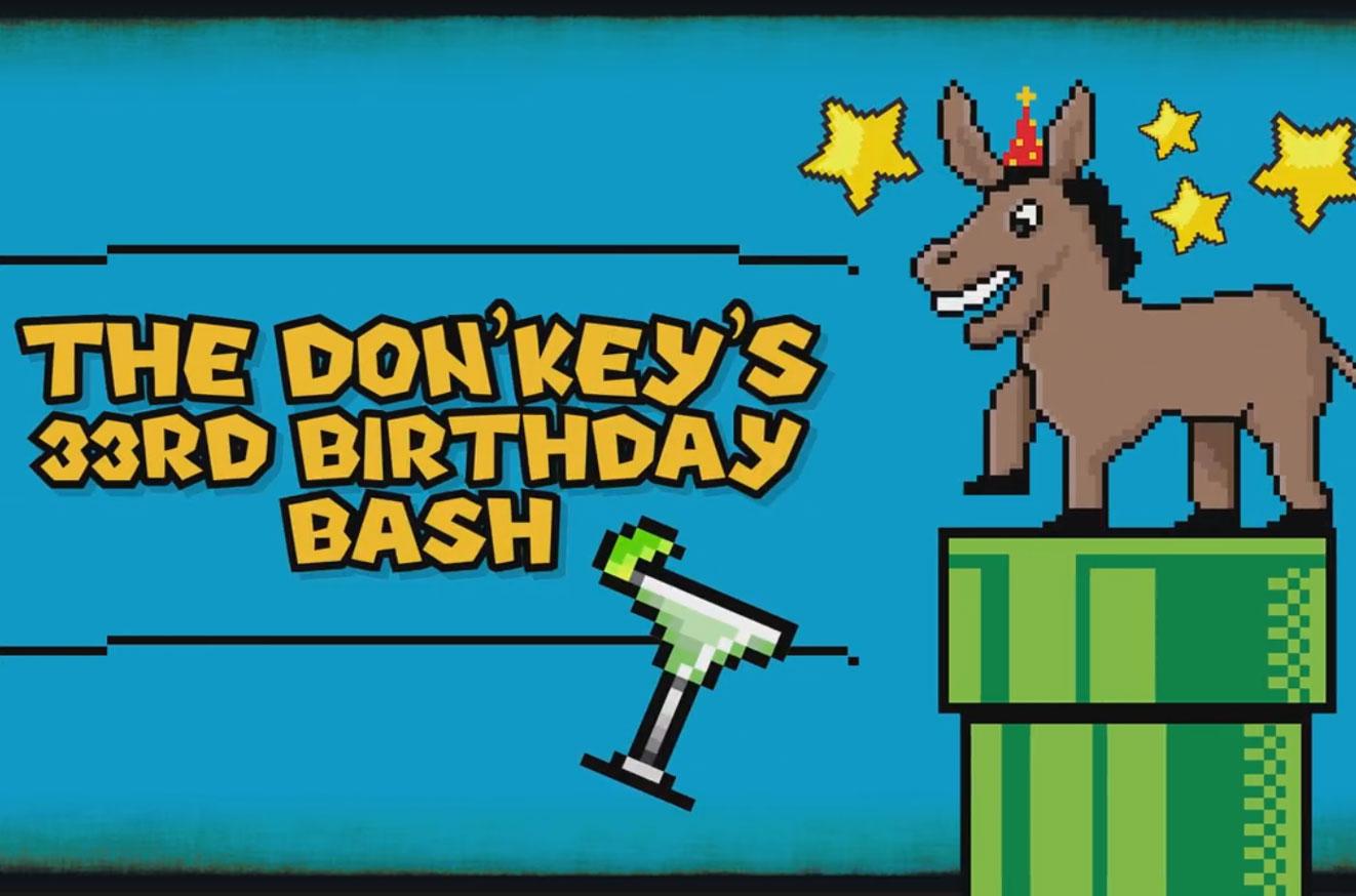 The Don'Key Birthday Bash